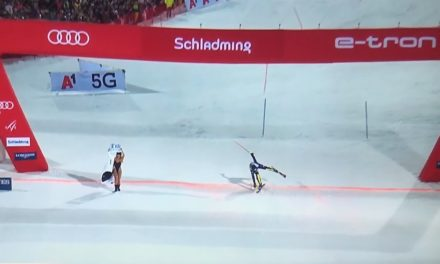 Une streakeuse fait le show à Schladming