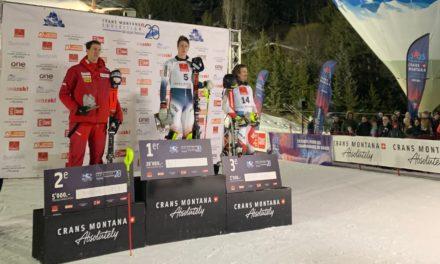 Clément Noël, géant du slalom de Crans-Montana