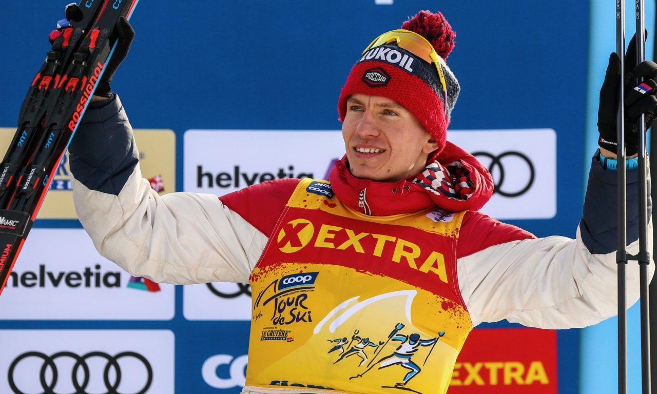 Alexander Bolshunov gagne le Tour de Ski
