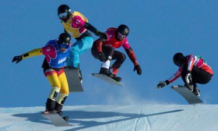 Les Suisses font fort en snowboardcross