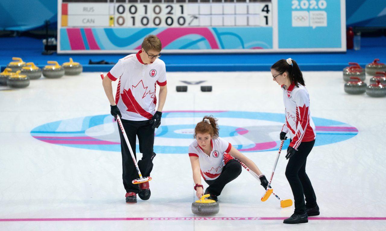 Le curling pour promouvoir l'égalité des genres