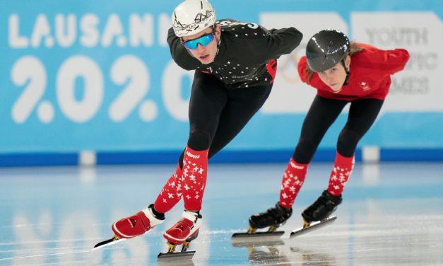 Des Romands pour promouvoir le short track en Suisse