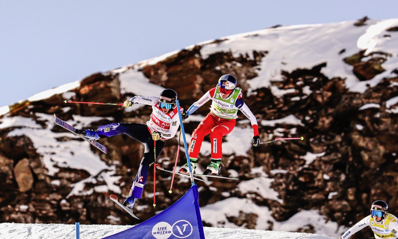 Fanny Smith et Ryan Regez confirment sur le podium
