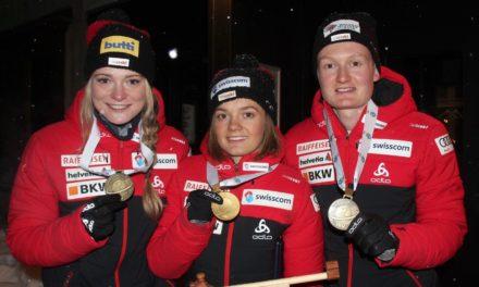 La relève du biathlon suisse médaillée