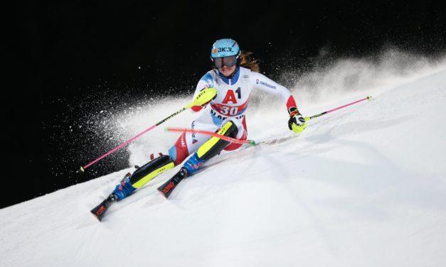 Elena Stoffel sur le podium en Coupe d'Europe