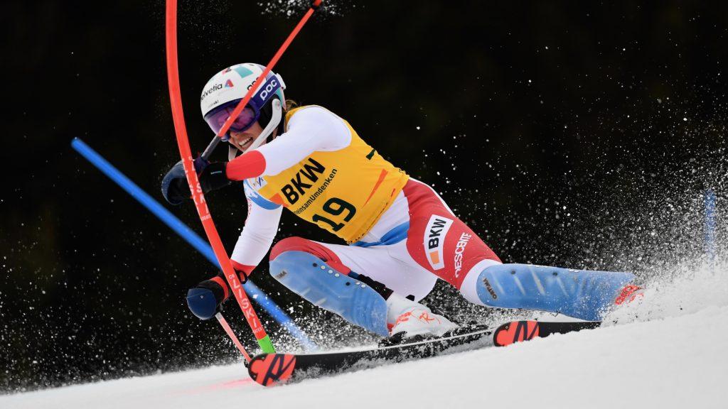 "Michelle Gisin: ""Un résultat positif""   SkiActu.ch"