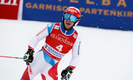 Loïc Meillard cueille un super podium à Garmisch