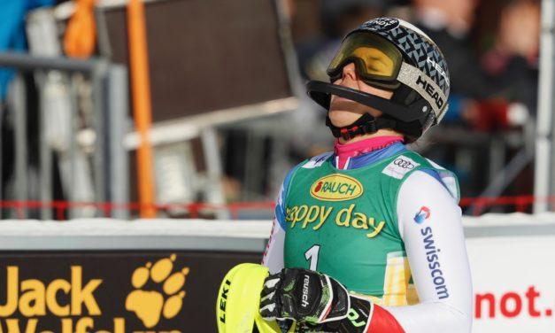 Wendy Holdener encore dauphine en slalom