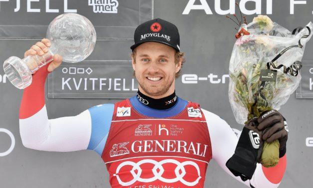 Le super-G annulé, Mauro Caviezel récompensé