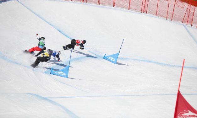 Les finales de snowboardcross de Veysonnaz en direct
