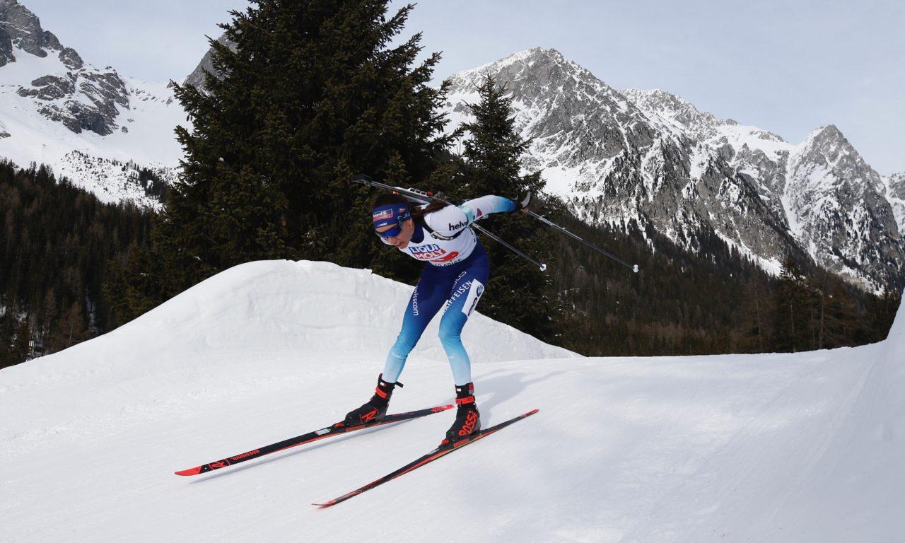 Selina Gasparin conclut l'hiver sur le podium
