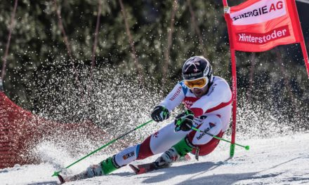 Pierre Bugnard range les skis
