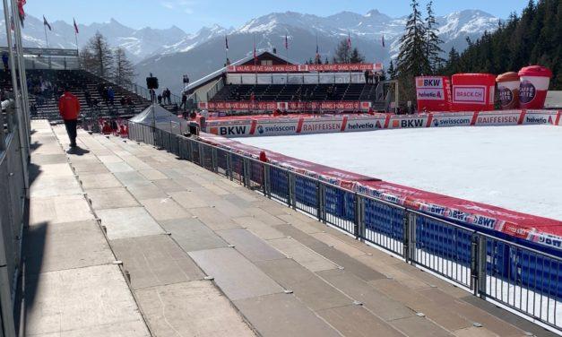 Pas de spectateurs lors des courses en Suisse