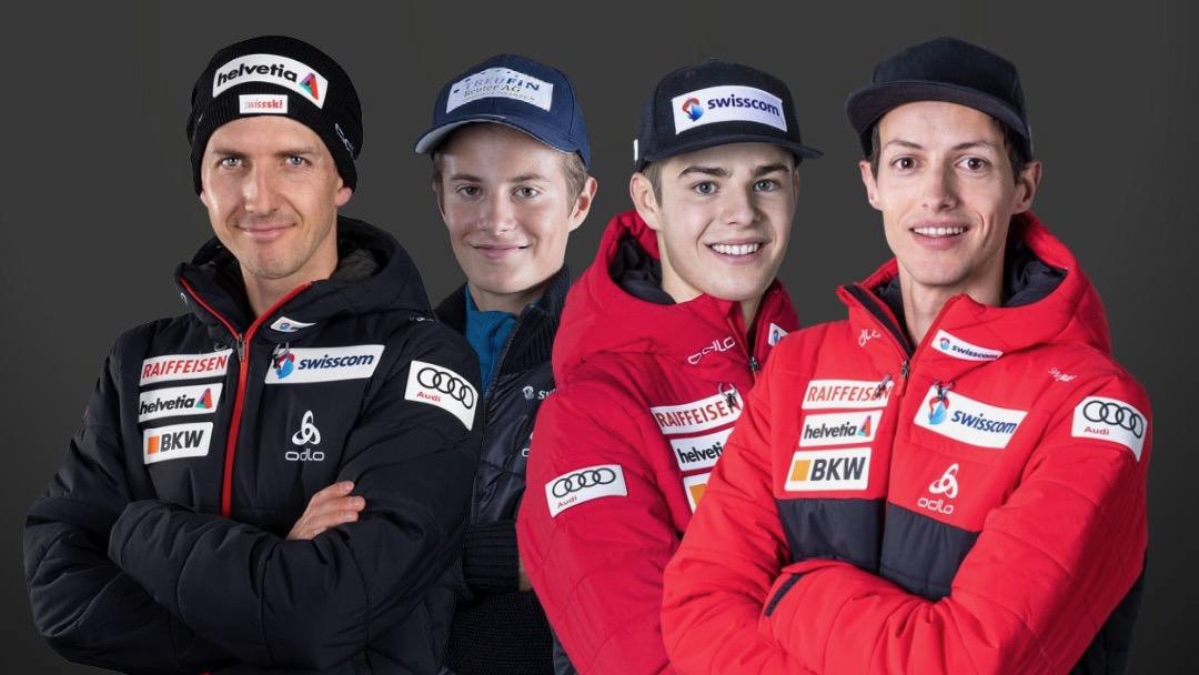 Un quatuor emmené par Simon Ammann