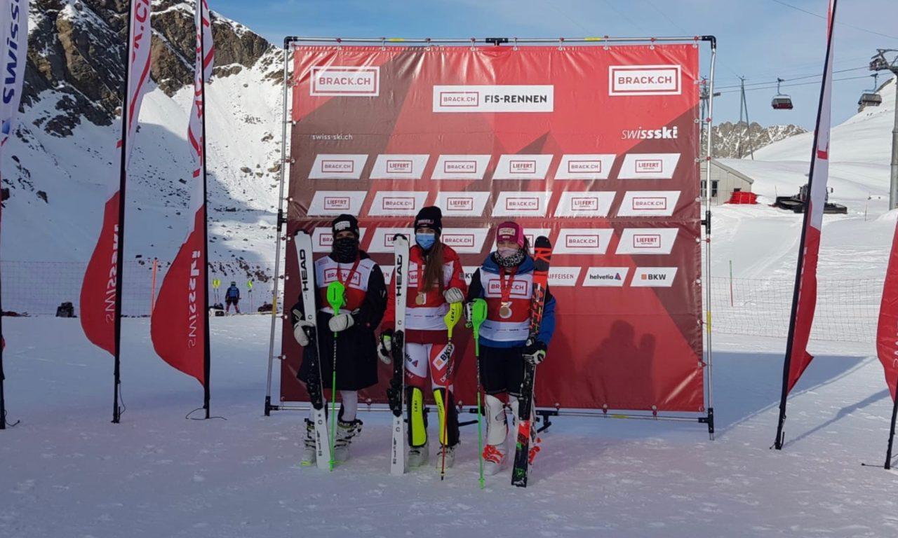 Amélie Klopfenstein championne de Suisse de slalom