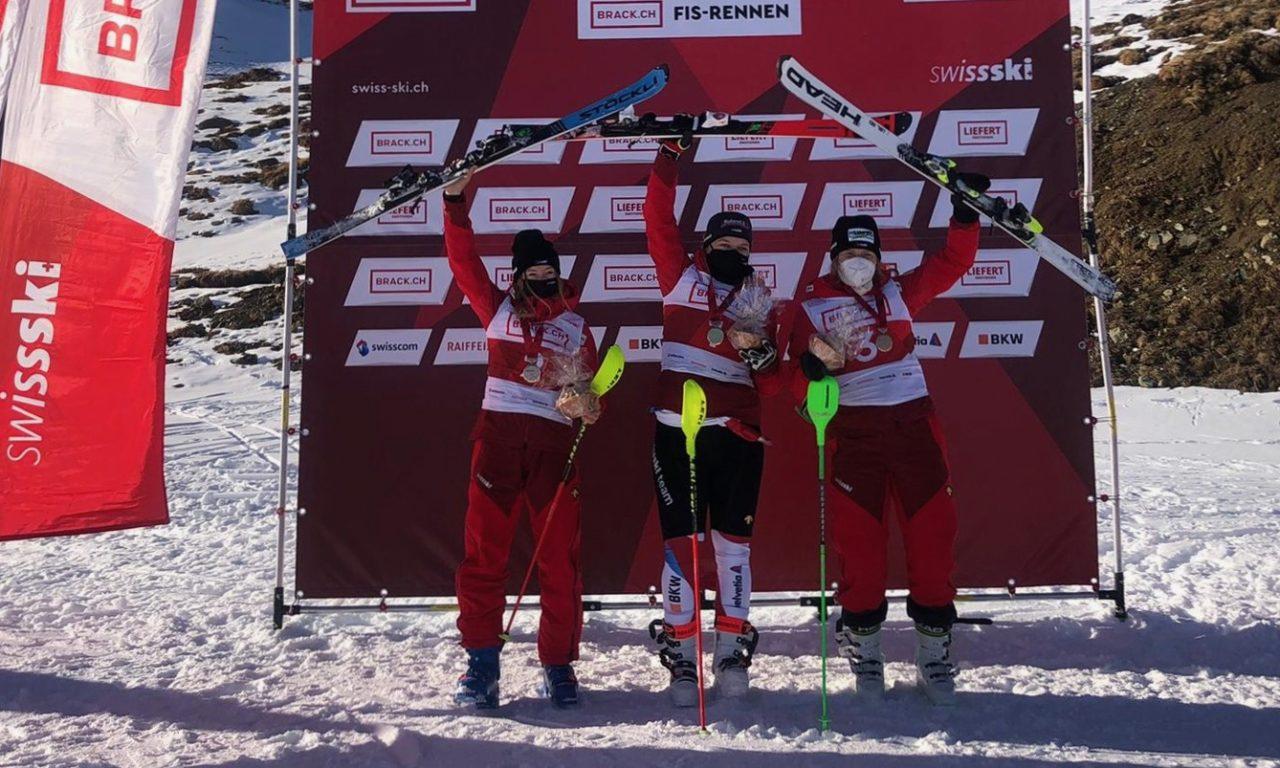 Delphine Darbellay vice-championne de Suisse