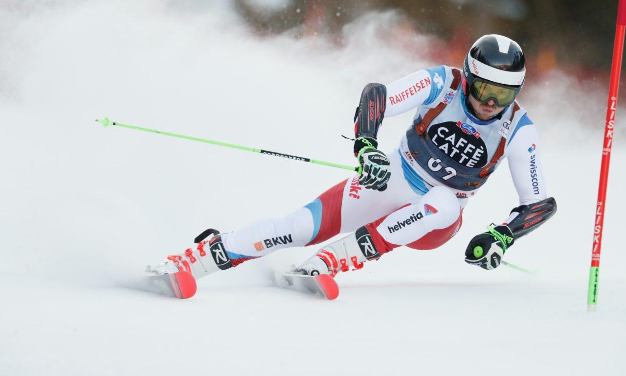 Marco Reymond champion de Suisse de géant