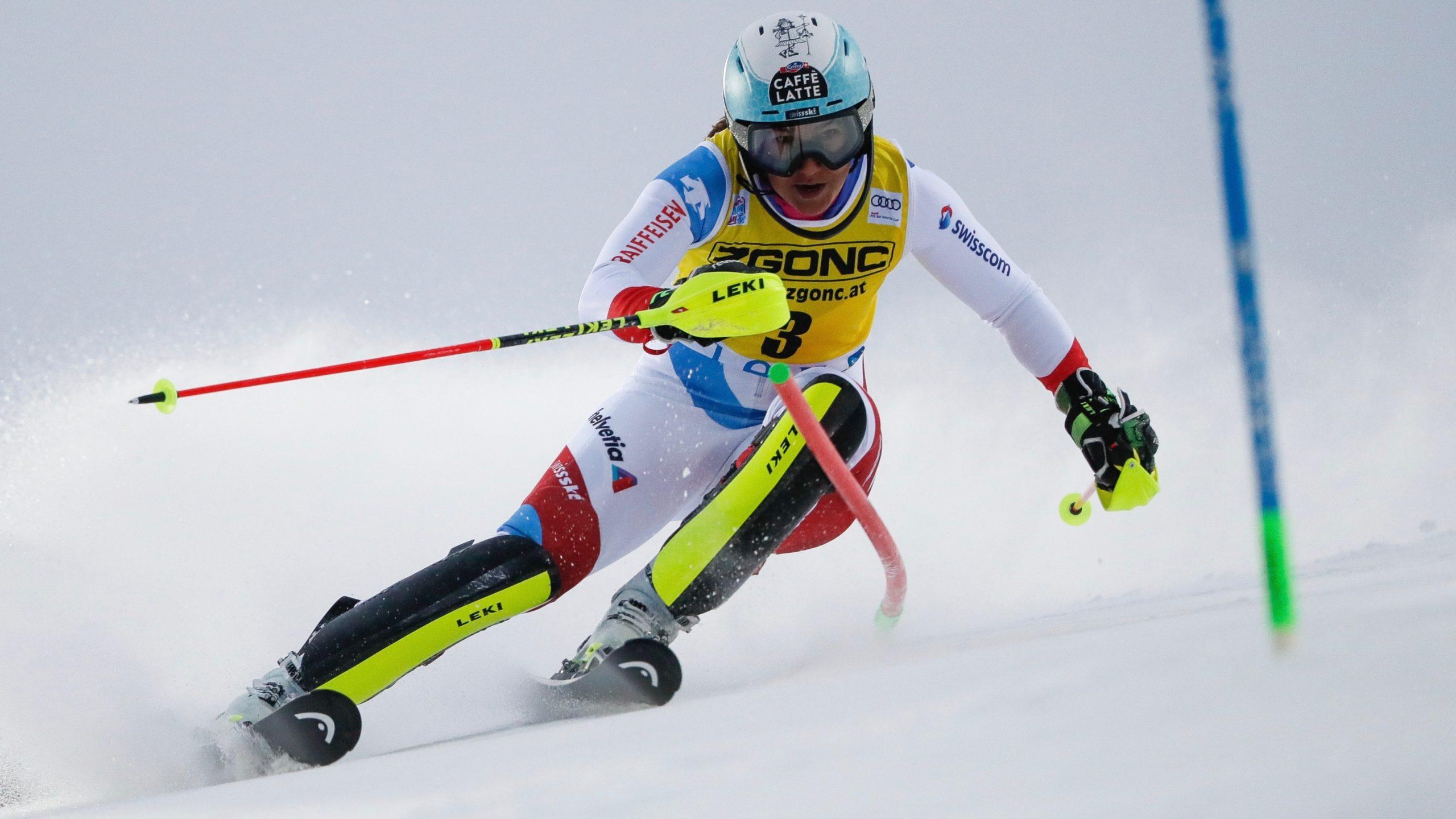Holdener et Gisin au pied du podium à Levi | SkiActu.ch