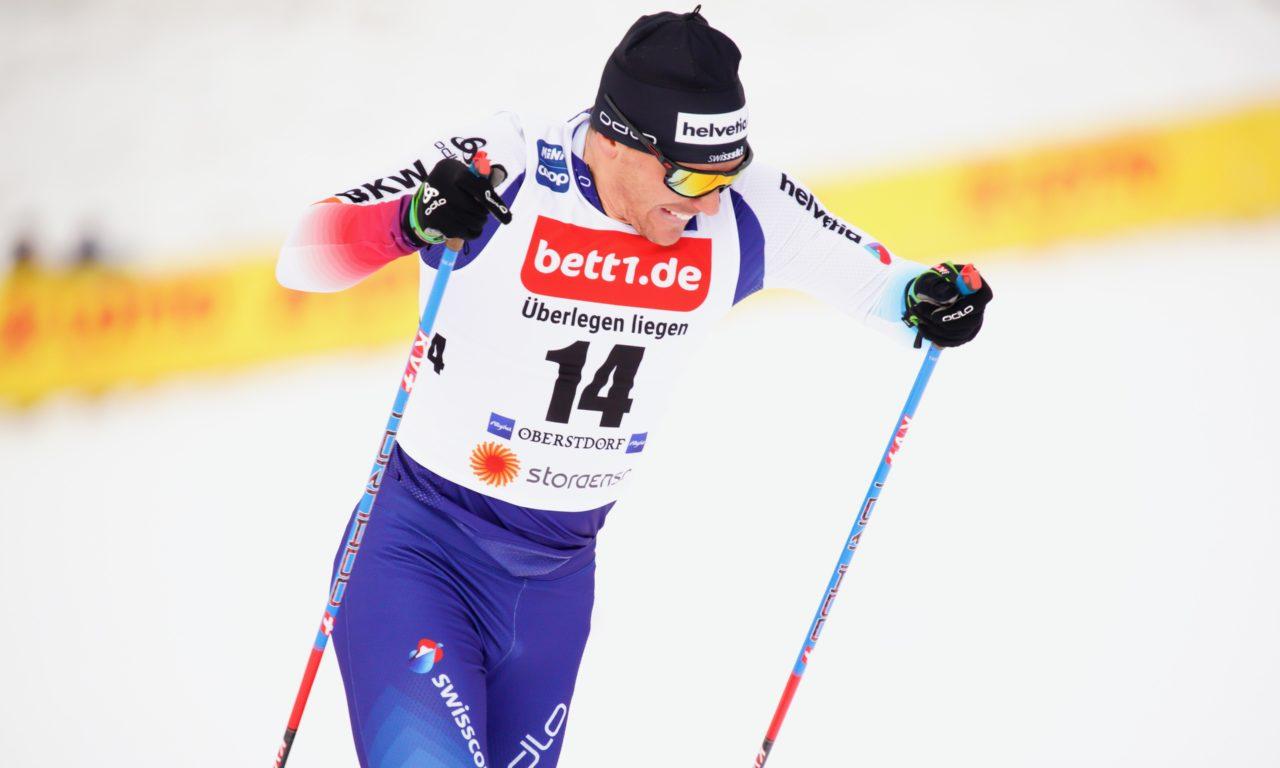 Jovian Hediger avec six Suisses à Ruka