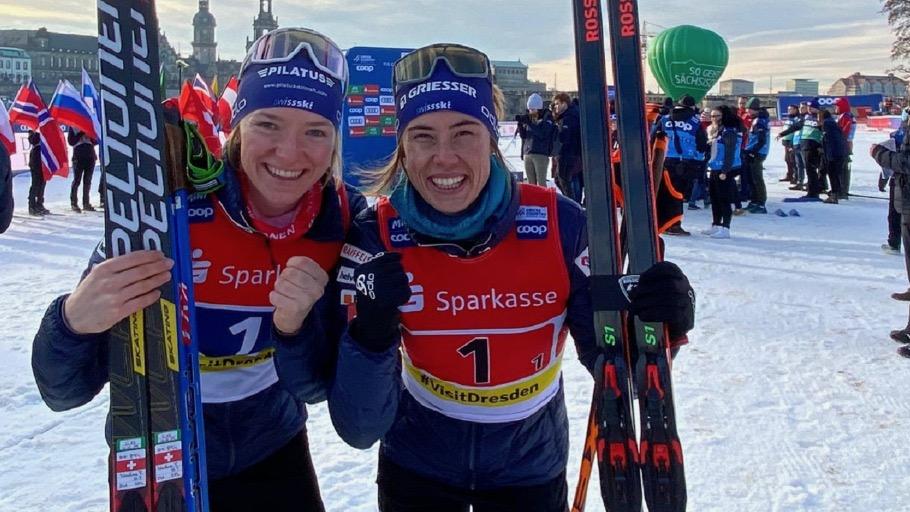 Les Suissesses enfin sur la plus haute marche