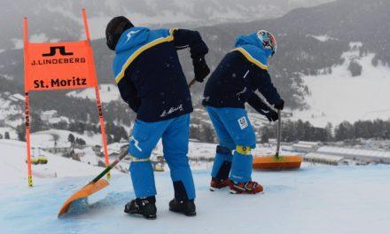 Trop de neige, pas de super-G à Saint-Moritz