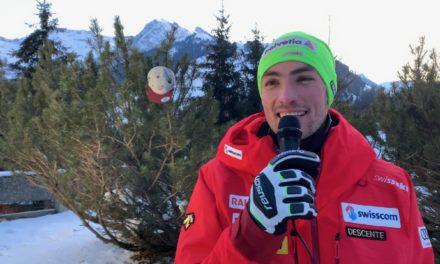 Les slalomeurs suisses se lâchent à Adelboden