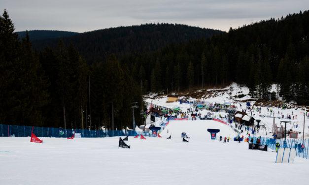 Les Mondiaux de snowboard alpin à Rogla
