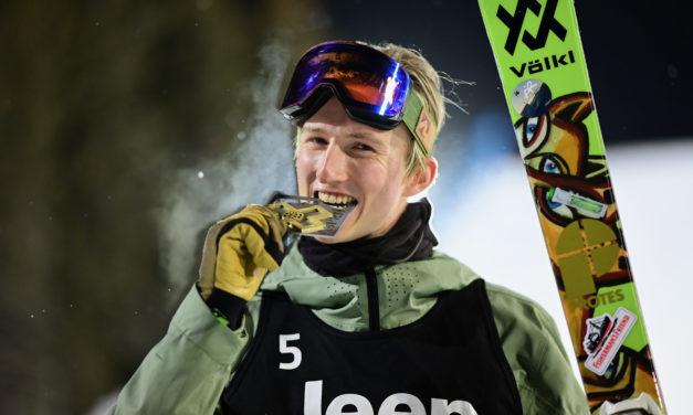 Andri Ragettli en or aux X Games