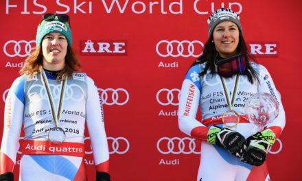 Michelle Gisin et Wendy Holdener zappent Garmisch