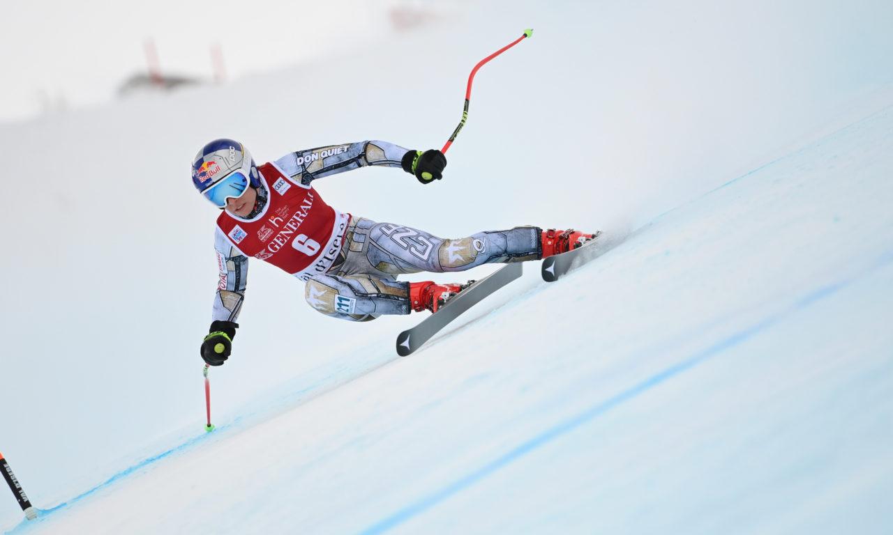 Ester Ledecka la plus rapide