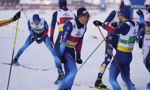Jovian Hediger et Roman Furger, une première sur le podium