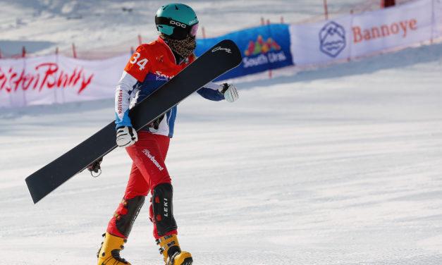 Première victoire pour Julie Zogg cet hiver