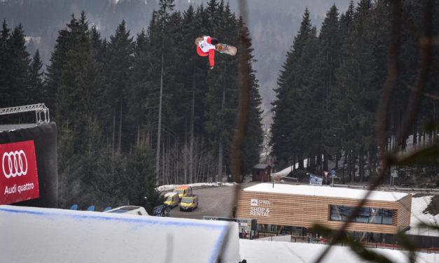 Pas de finales en snowboard slopestyle