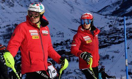 Quatre Valaisans pour le slalom de Cortina