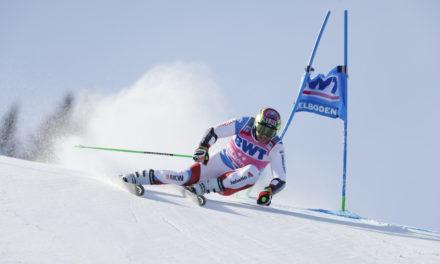 Justin Murisier en super-G à Garmisch-Partenkirchen