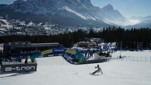 Foss-Solevaag titré en slalom, Yule 5e