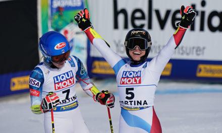 Lara Gut-Behrami est championne du monde de géant!