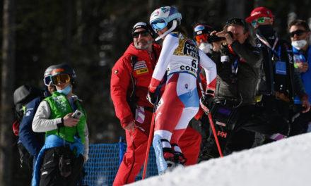"""Michelle Gisin: """"Je repars heureuse de Cortina"""""""