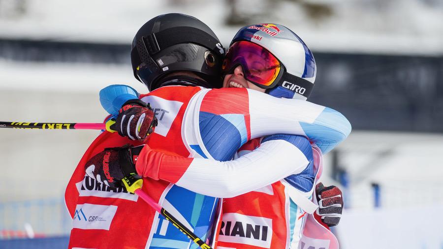 La Suisse première gagnante par équipes
