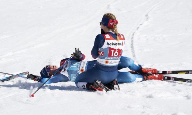 Les Suissesses vice-championnes du monde