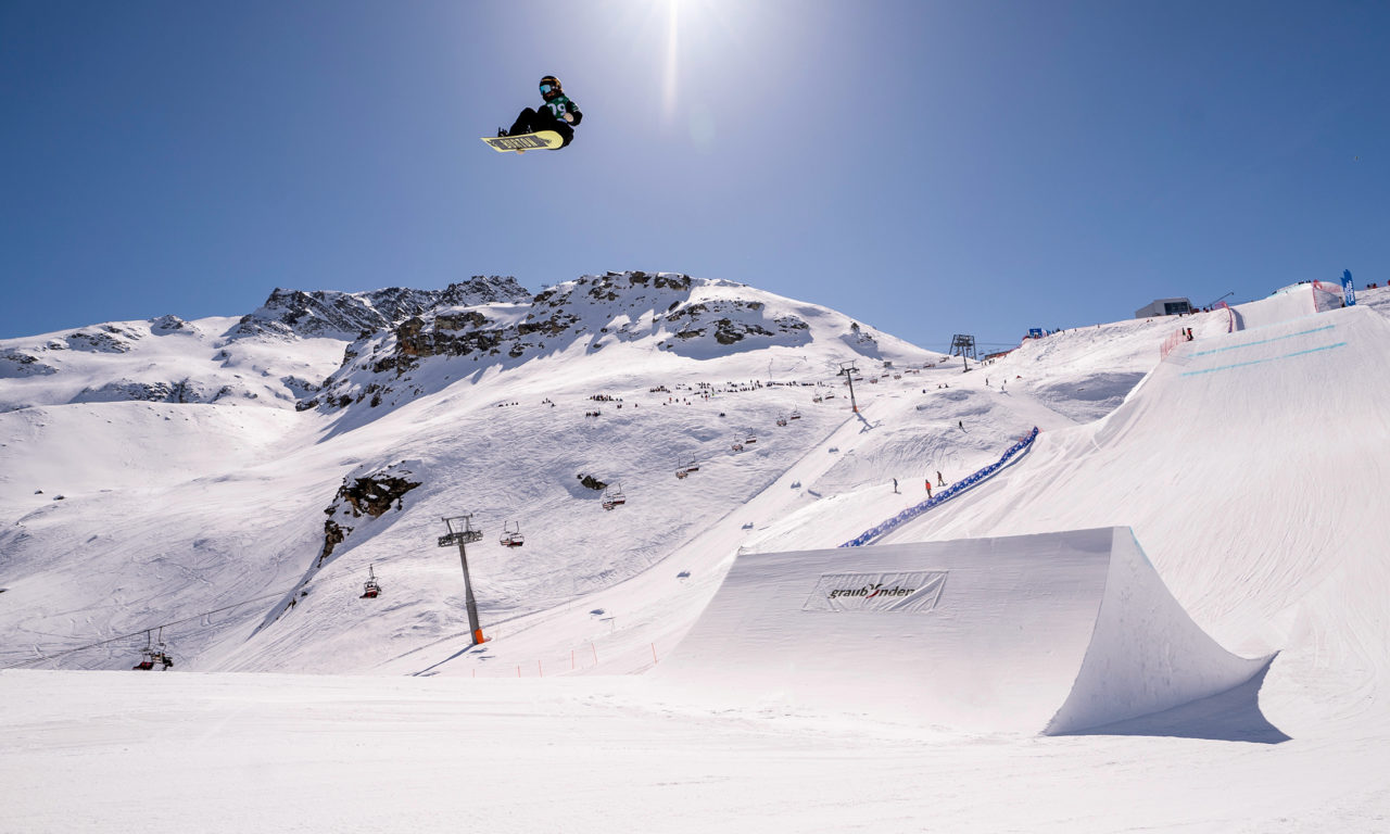 Les finales de snowboard à Silvaplana en direct