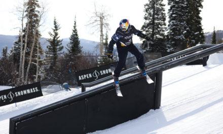 Mathilde Gremaud en argent dans les rafales d'Aspen