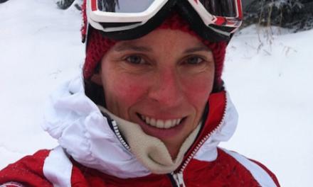 Julie Pomagalski emportée par la montagne