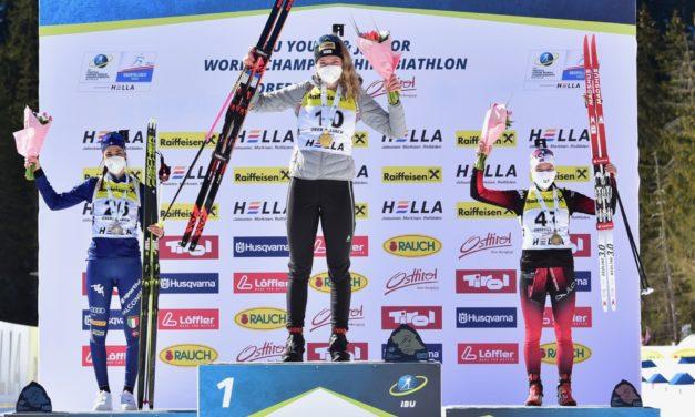 Amy Baserga championne du monde juniors de sprint