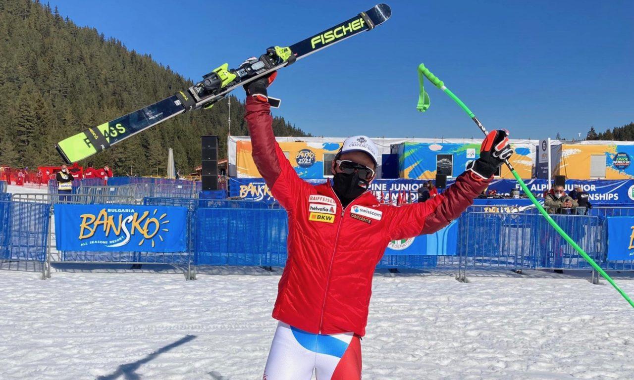 Gaël Zulauf en bronze aux Mondiaux juniors