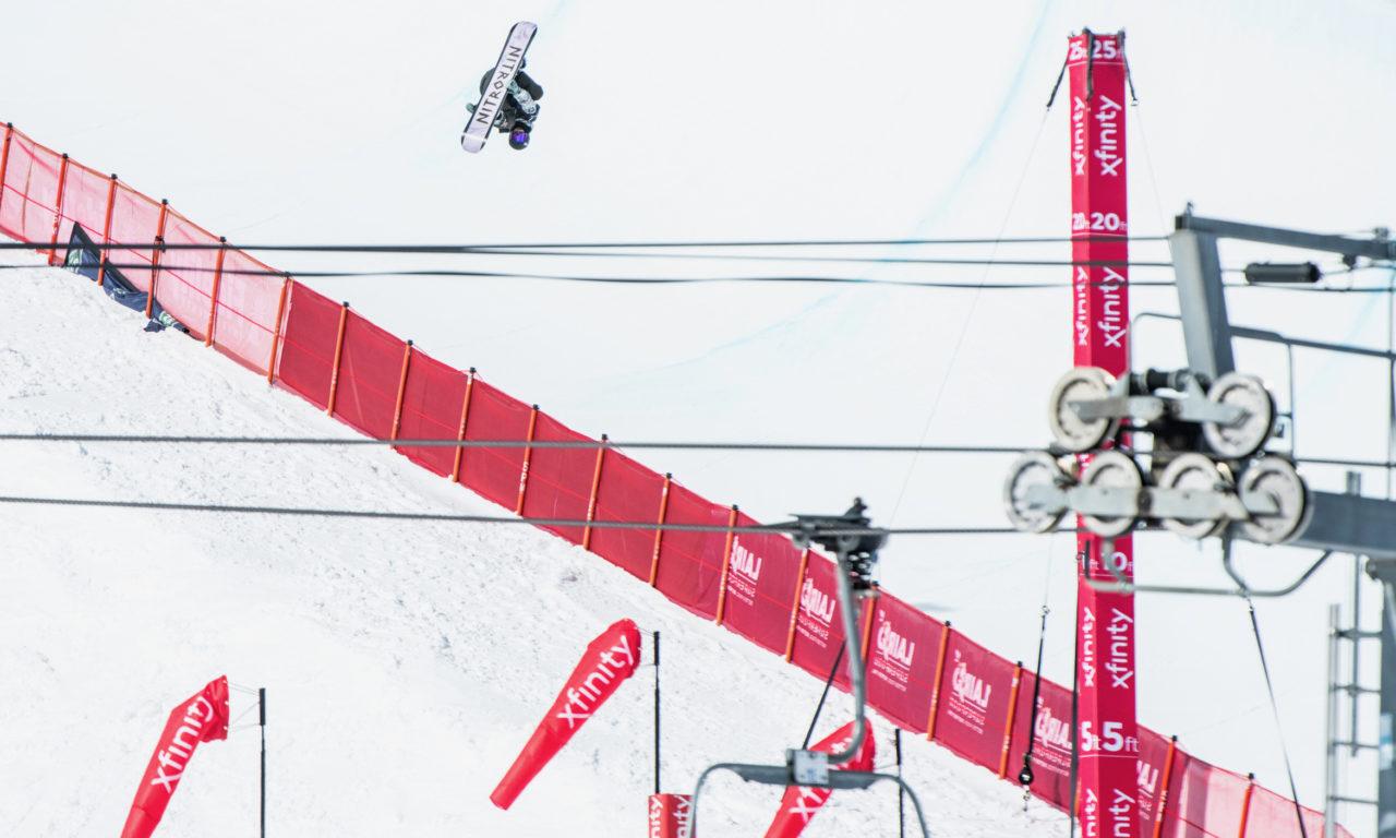 Jan Scherrer bronzé à Aspen