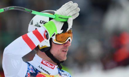 Hannes Reichelt tire la prise