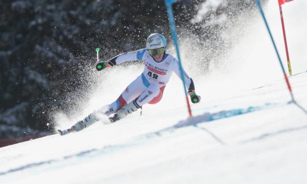 Camille Rast est championne de Suisse de géant