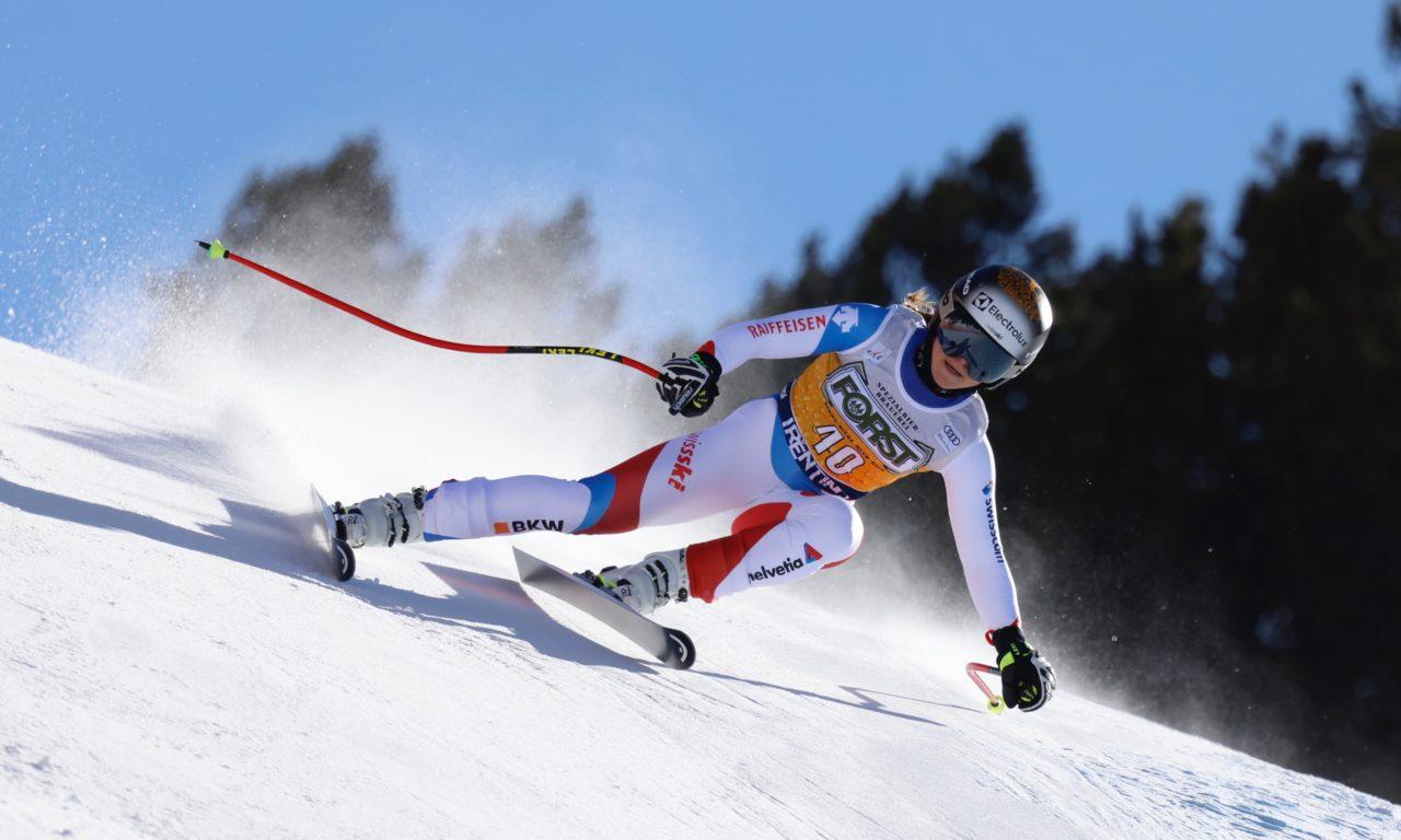 Delia Durrer laisse échapper les médailles