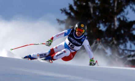 Jasmina Suter s'impose en super-G au Val di Fassa